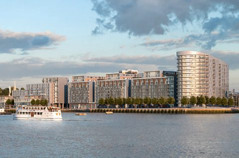 Image of New Capital Quay in Greenwich